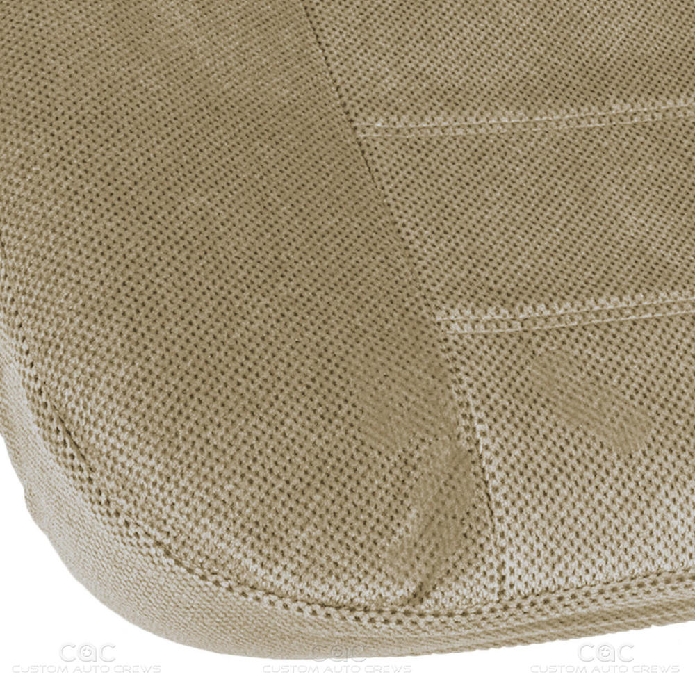 Beige Tan Regal Tweed Bench Seat Cover For Pickup Trucks
