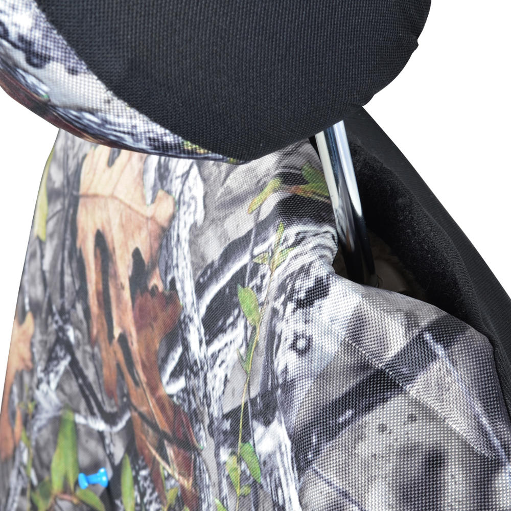 9 Piece Car Truck Seat Cover Hunting Camo Bucket Seats