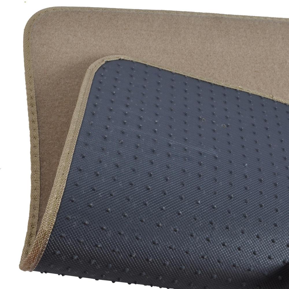 5pc Set Plush Carpet Passenger Van Auto Floor Mats Front