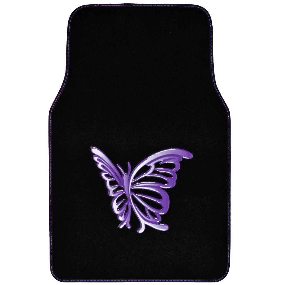 Custom Design Floor Mats 4 Pc Car Accessories For Girls