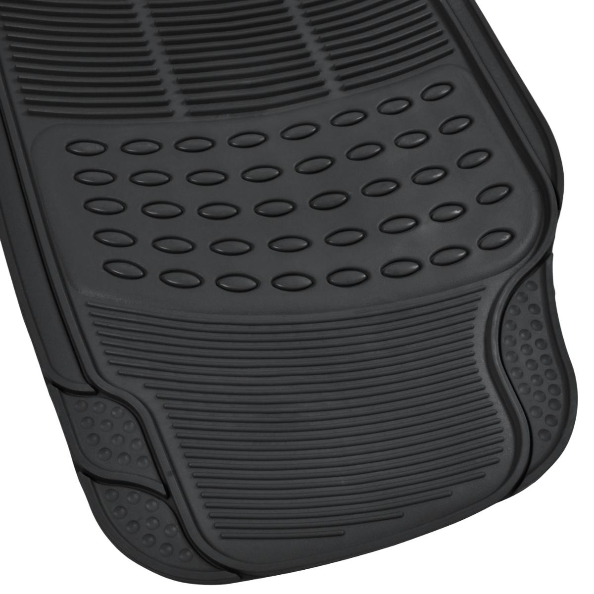 Rubber floor mats suv - Black Rubber Floor Mats For Car Suv 3