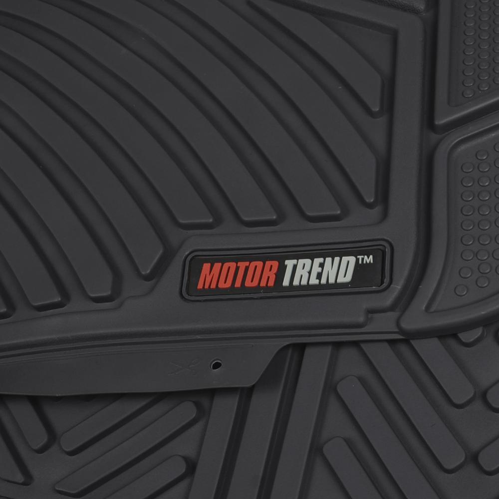 Motor trend max duty van truck floor mats black odorless for Motor trend floor mats review