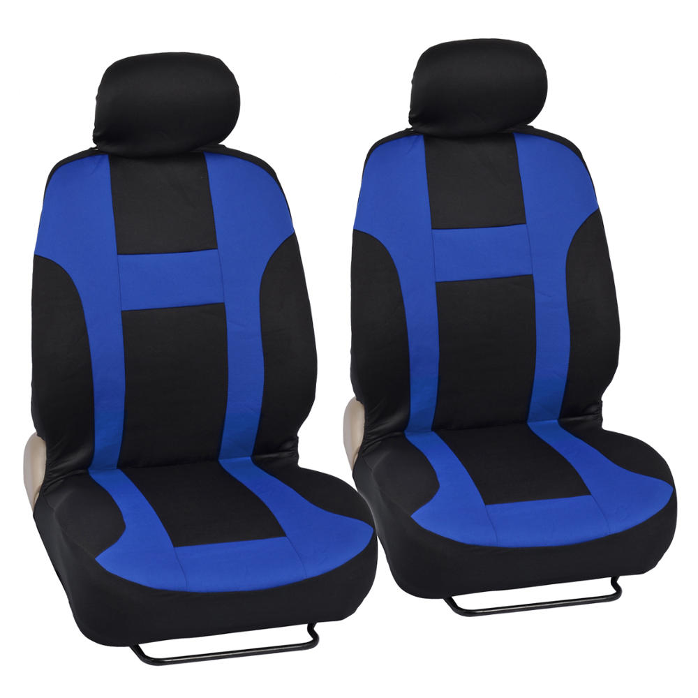 Car Seat Covers Monaco Style Black And Blue Front And Rear