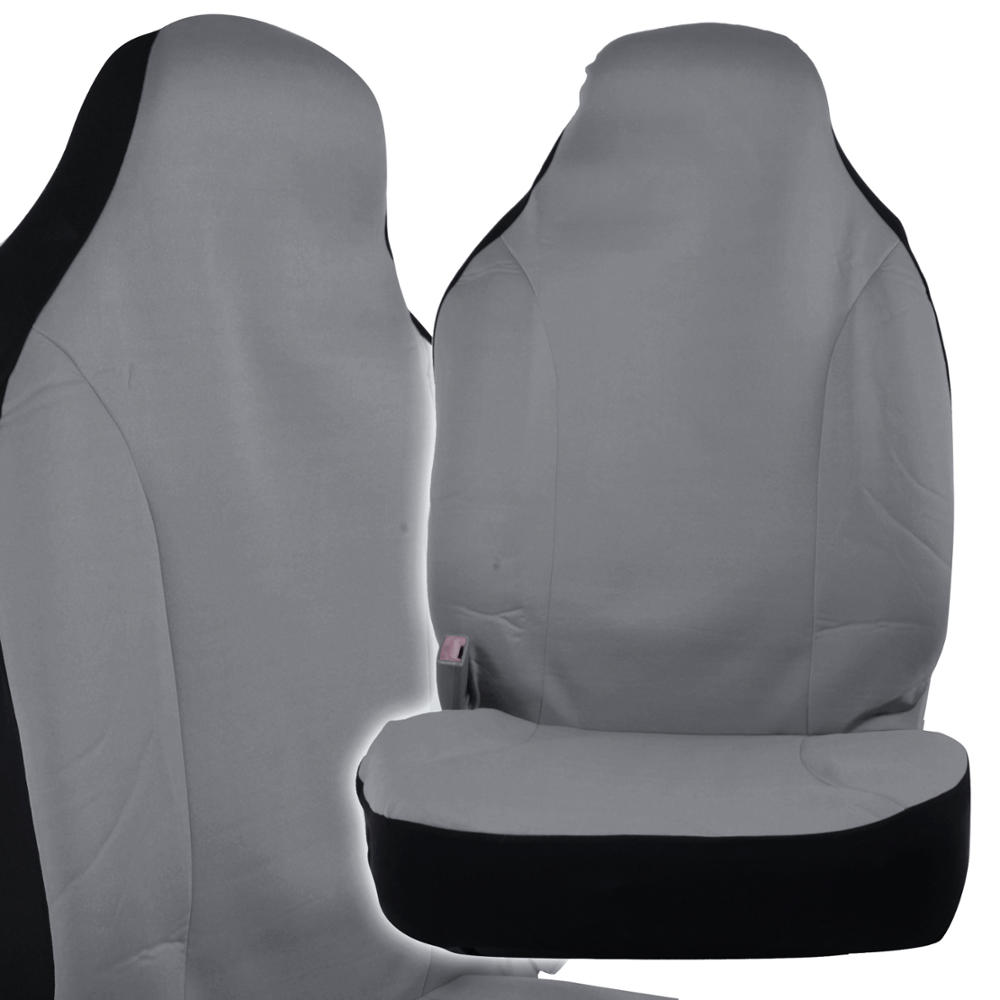 Car Seat Covers High Back Bucket Fit Mesh Polyester Pair