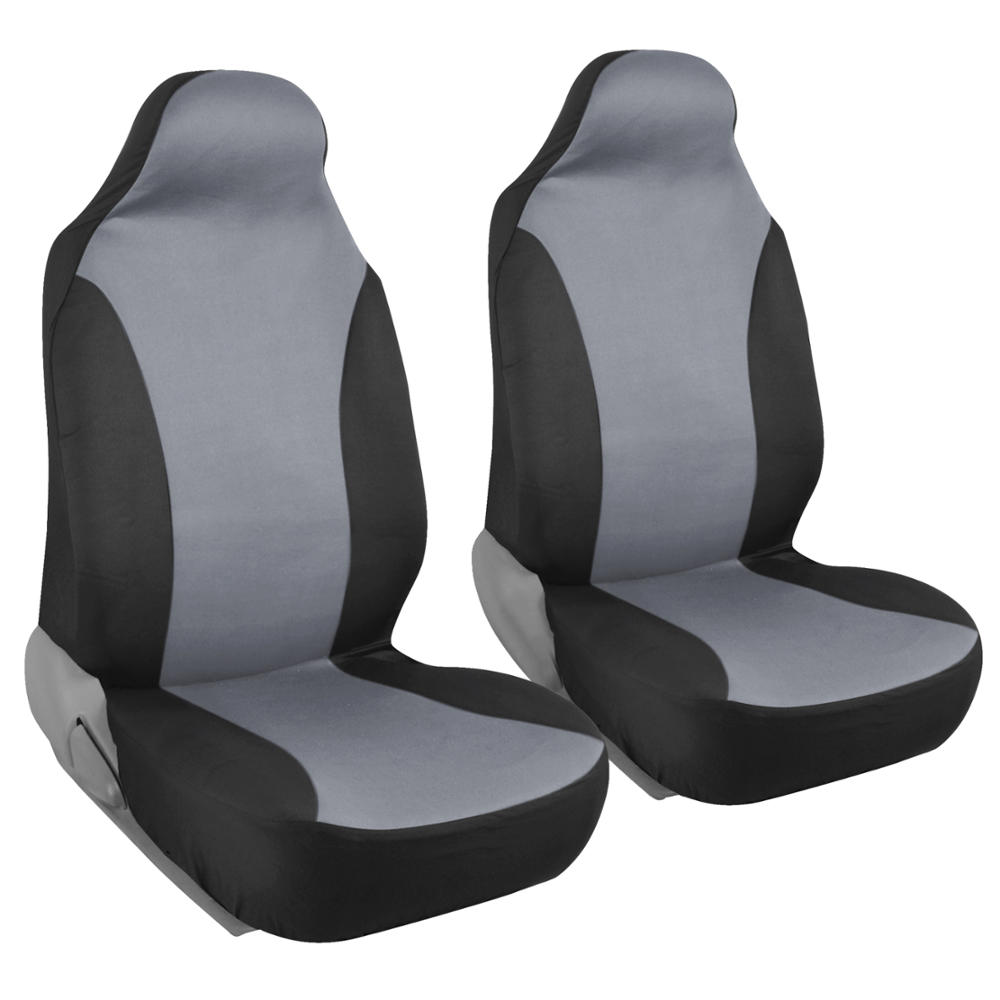 Car Seat Covers High Back Bucket Fit Mesh Polyester Front