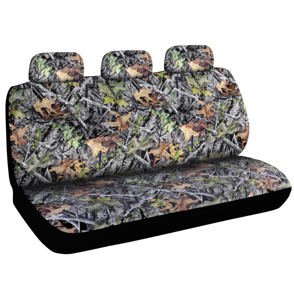 13 piece car truck seat cover hunting camo bucket seats matching hd floor mats ebay. Black Bedroom Furniture Sets. Home Design Ideas