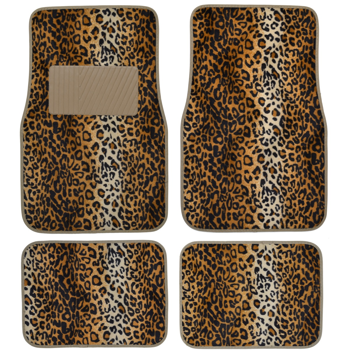 15pc Premium Animal Print Seat Covers And Front Amp Rear