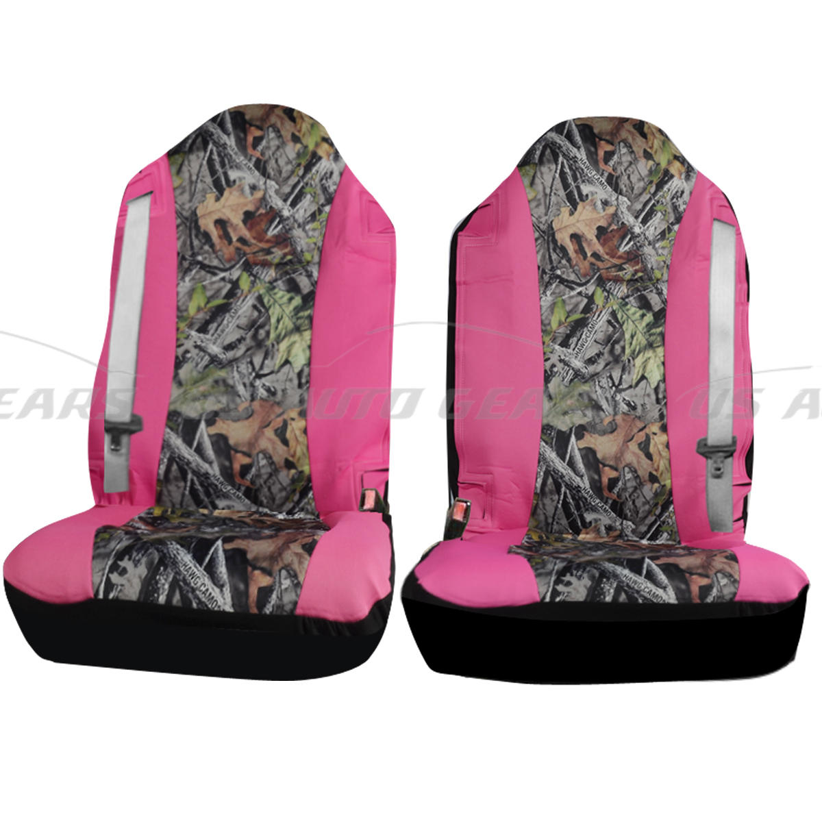camouflage hawg camo seat cover 2 pc set cars trucks pink car floor mats u6 ebay. Black Bedroom Furniture Sets. Home Design Ideas