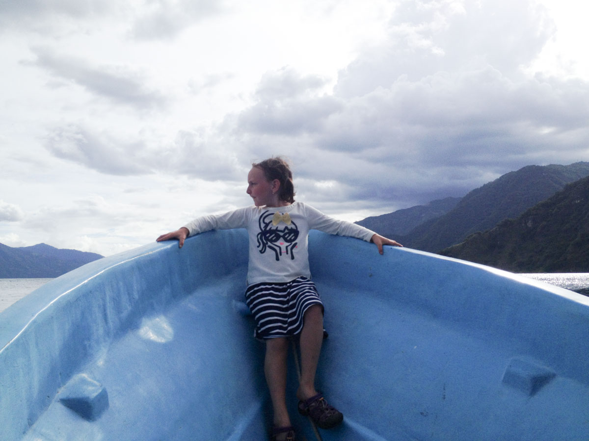 Boat Ride on Lake Atitlan, Guatemala - Vezzani Photography