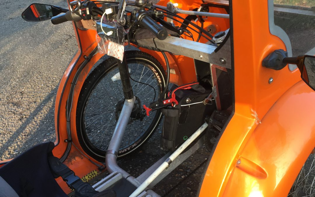 Organic Transit ELF with 20AH Calibike battery