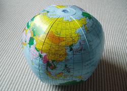 Inflatable-globe
