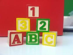 Alphabet-and-number-blocks