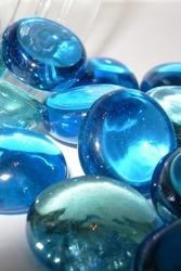 Blue-pebbles