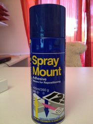 Spray-mount