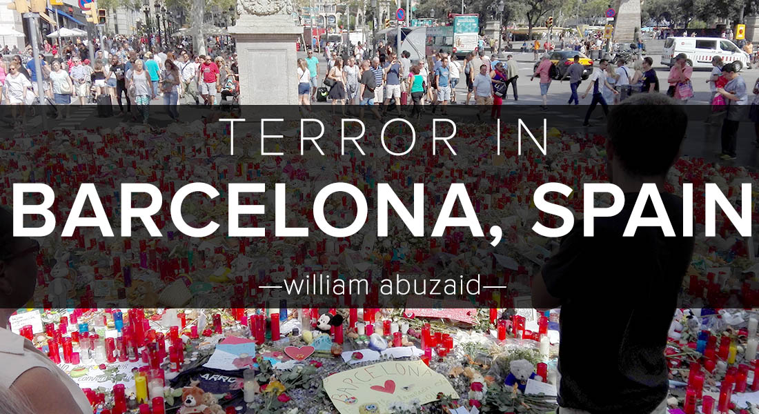 Terror in Barcelona, Spain