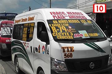 Registran 100 infracciones hacia transporte urbano
