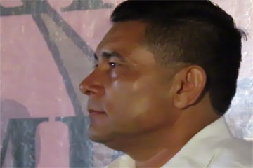 Rodolfo Campo restructurará sistema policiaco