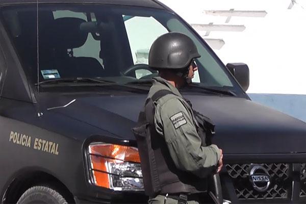 Fuerte operativo de seguridad por presuntos sicarios