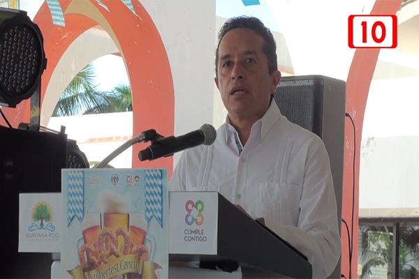 Carlos Joaquín dará reporte de 100 días de gobierno