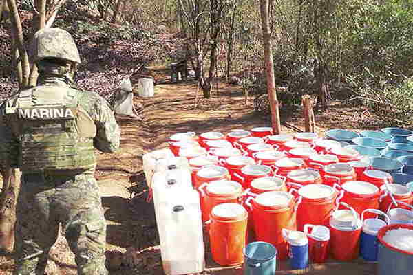 Arrebatan al narcotráfico 150 mil armas; además...