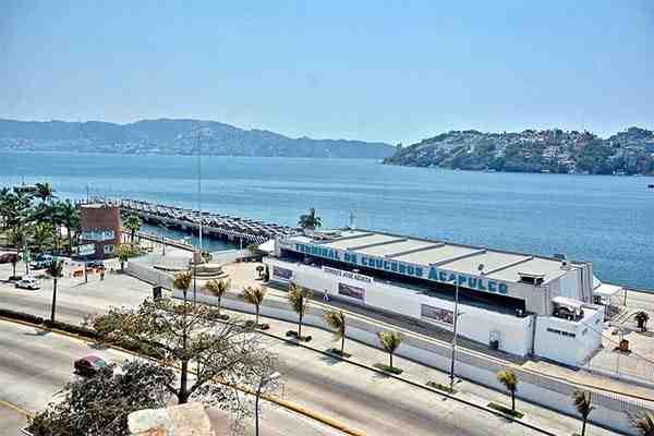 Cancelan crucero a Acapulco
