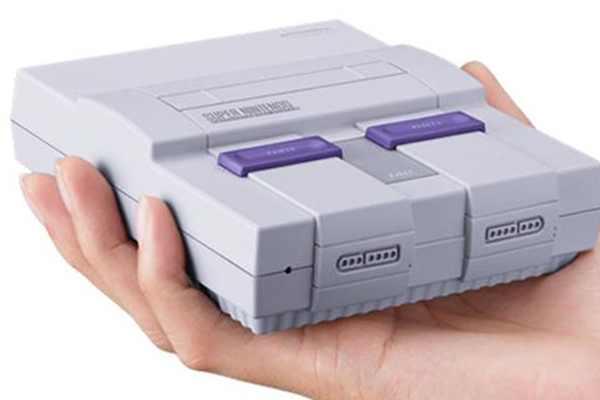 Nintendo presentó la Super Nintendo Classic Edi...