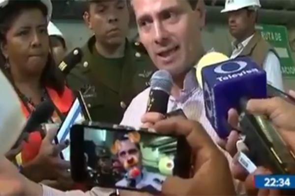 Peña Nieto es trolleado con filtro de 'perrito'...