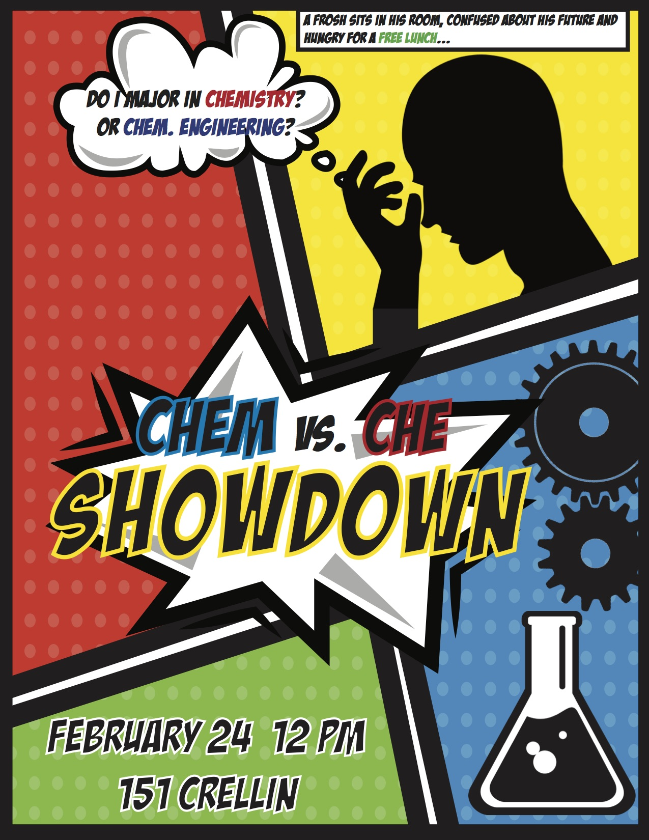 Chem/ChemE Showdown Flyer