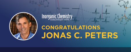 Peters wins 2017 ACS Inorganic Chemistry Lectureship