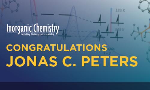 Peters wins 2017 ACS Inorganic Chemistry Lectureship