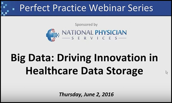 Datrium: A New Category in Healthcare Data Storage, Presented by National Physician Services