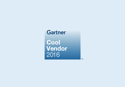 Gartner 2016 Cool Vendor Report