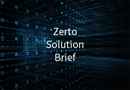 Zerto Solution Brief