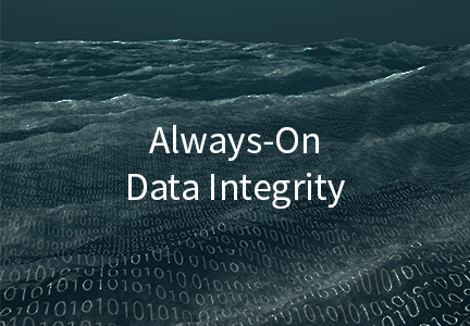 Always-On Data Integrity