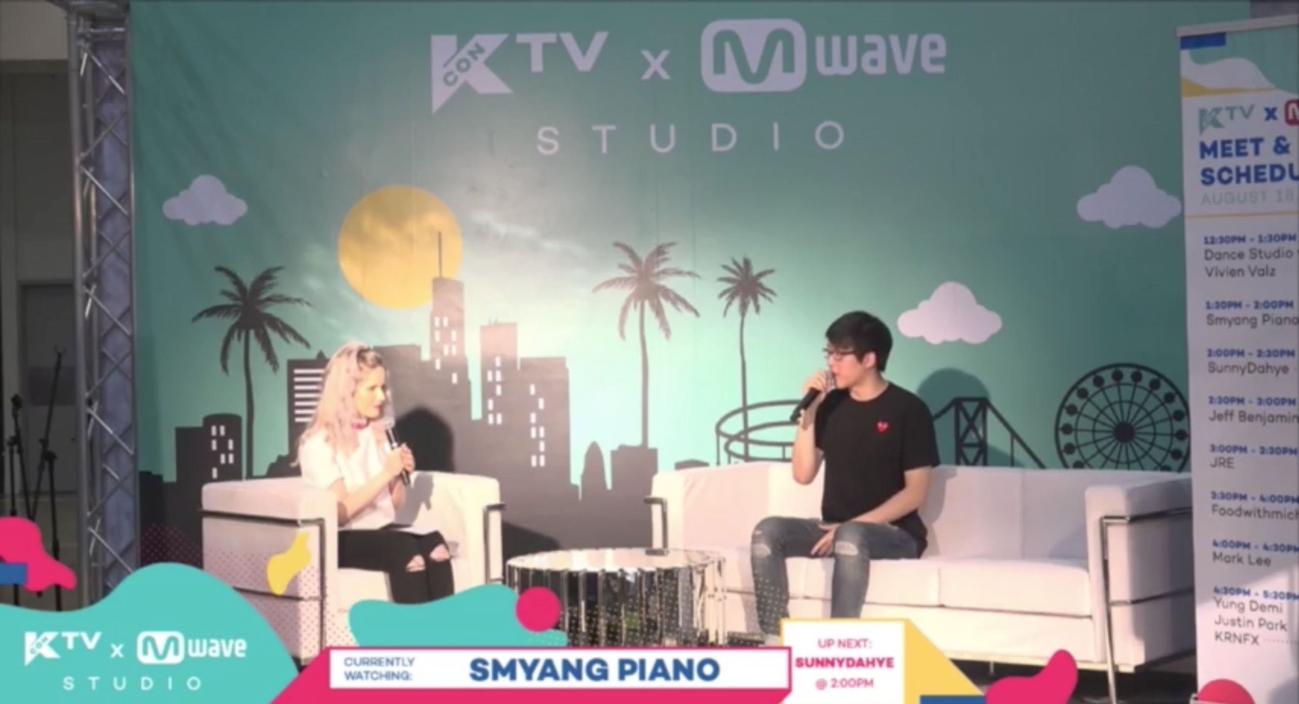 [#KCON17LA] Smyang Piano Reveals Himself For The First Time + Talks About His Rise To Fame on YouTube