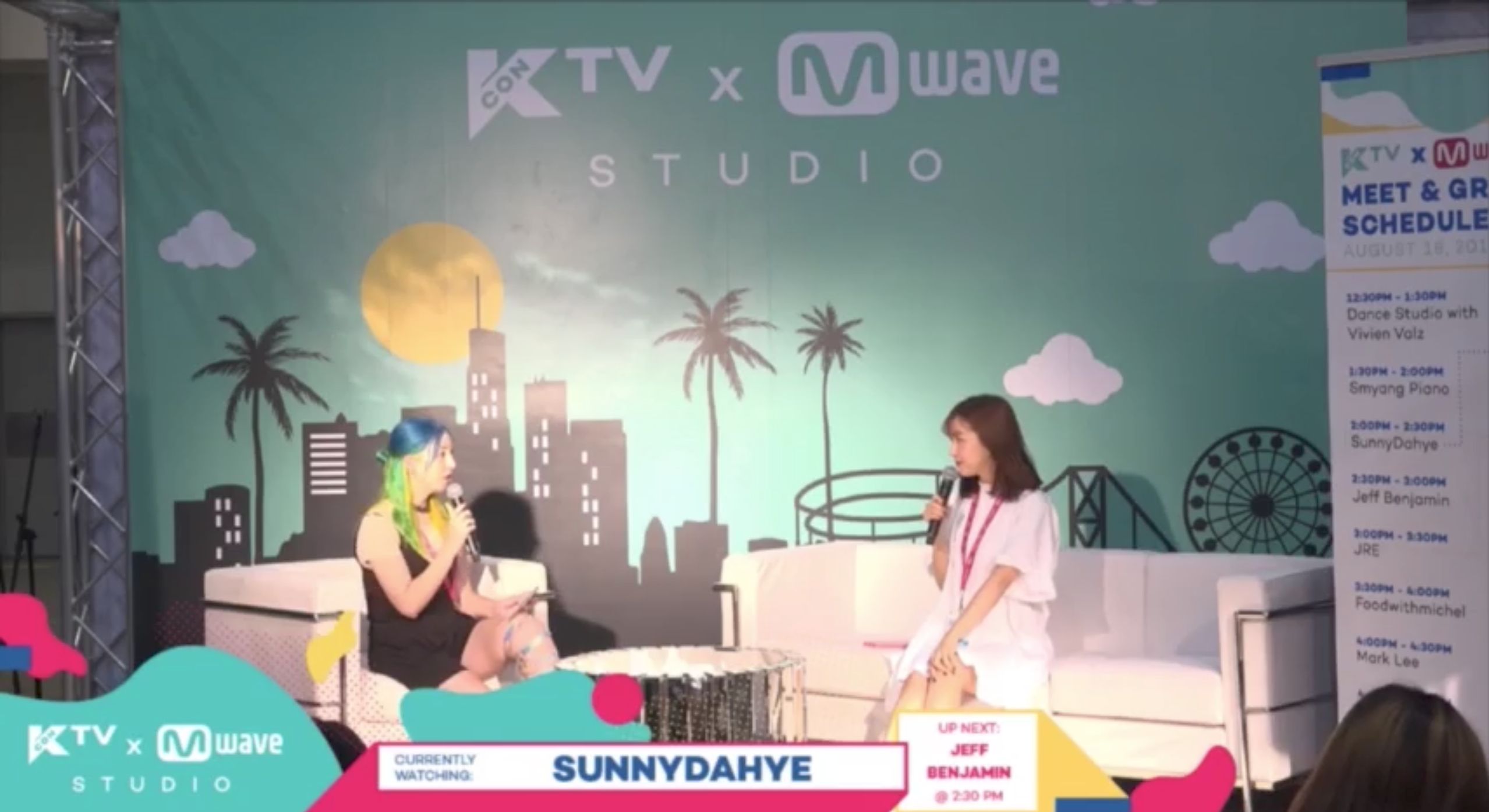 [#KCON17LA] SunnyDahye Wants Zico To Do Her Makeup? + Advice on Plastic Surgery and Juggling Her New Job and YouTube