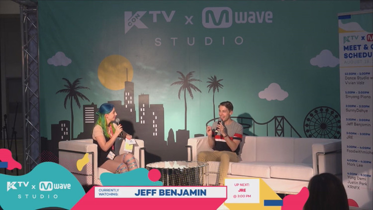 [#KCON17LA] Jeff Benjamin Shows Us His BEST Aegyo + Talks About The Rise Of K-Pop in America