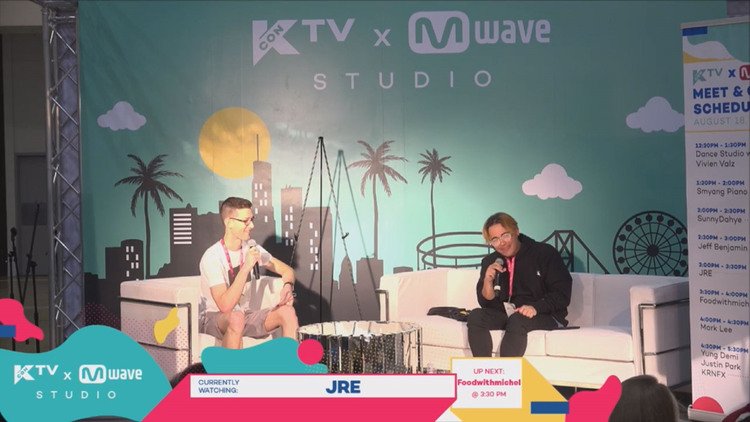 [#KCON17LA] JRE Gives Advice on Being a YouTuber + Reveals A Little Known Fact About Himself!