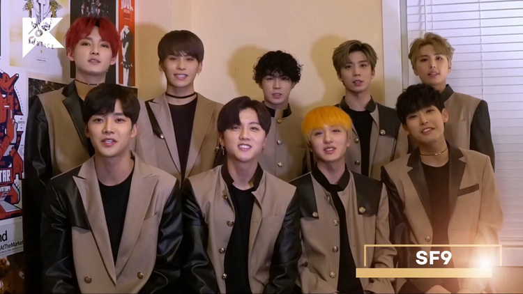 Watch All The SF9 Interviews From Their 'BE MY FANTASY TOUR' on KCON.TV!