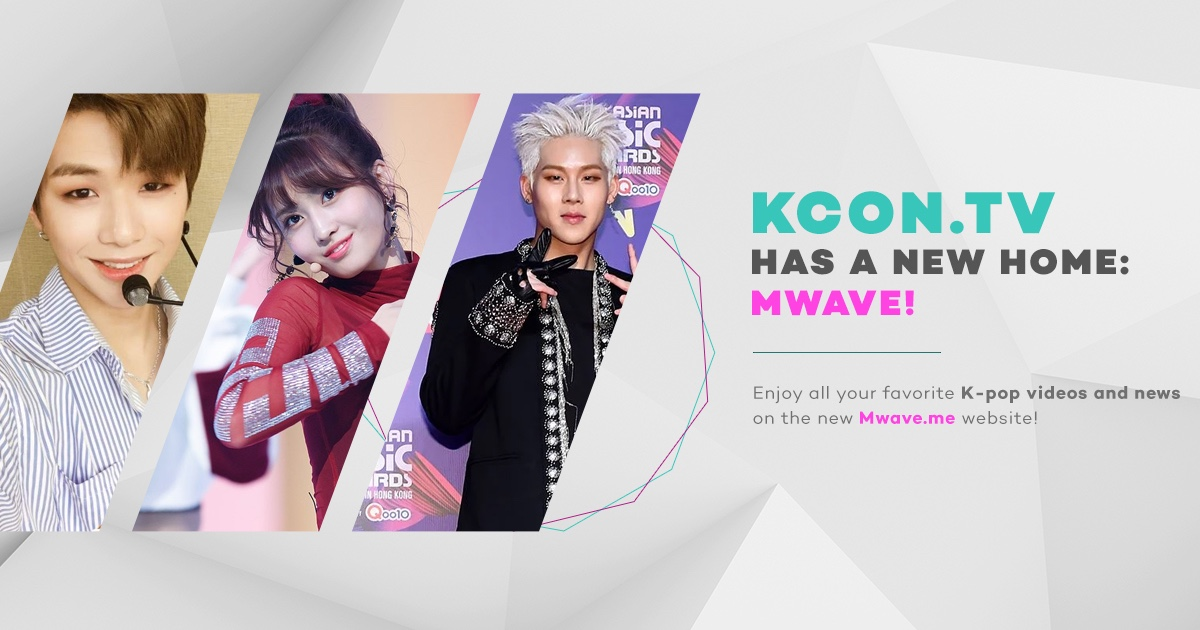 [Announcement] KCON.TV Has A New Home!