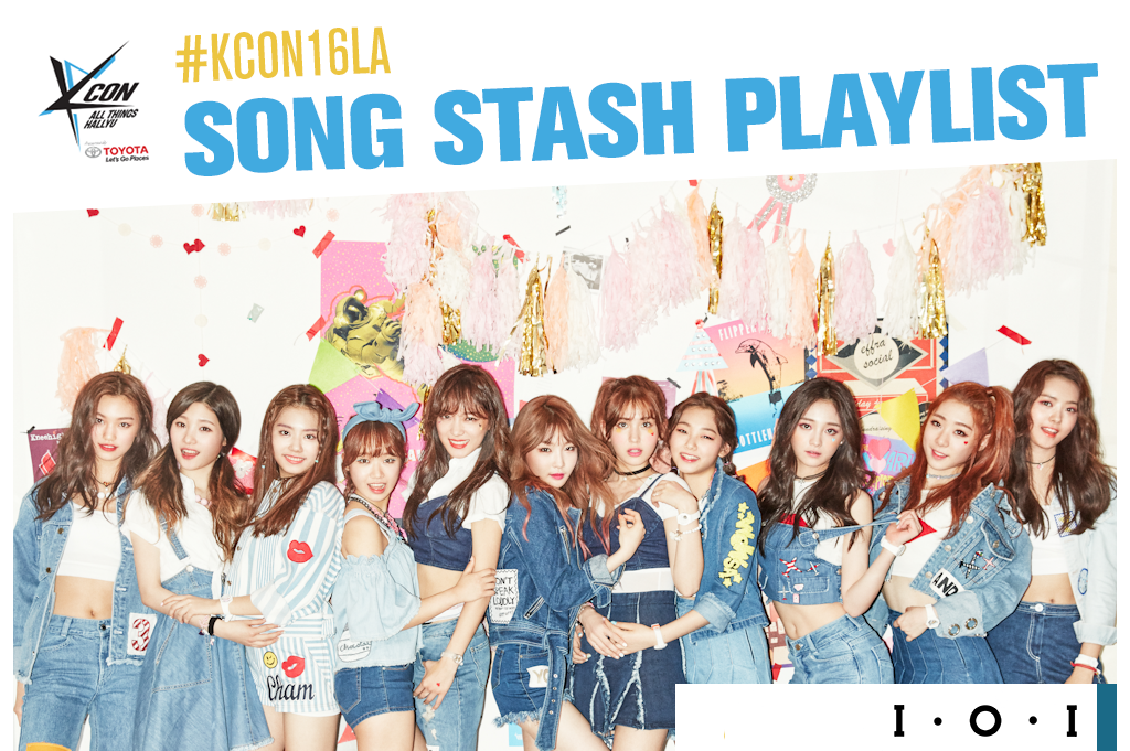 kcon16songstashplaylist(ioicv)