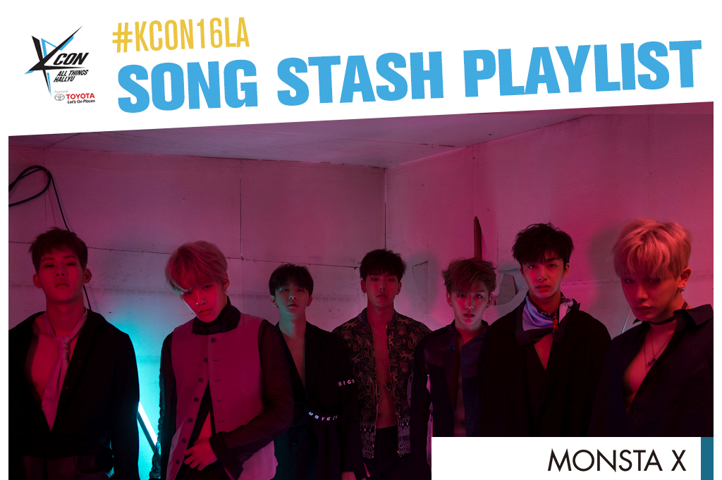 kcon16songstashplaylist(monstaxcv)
