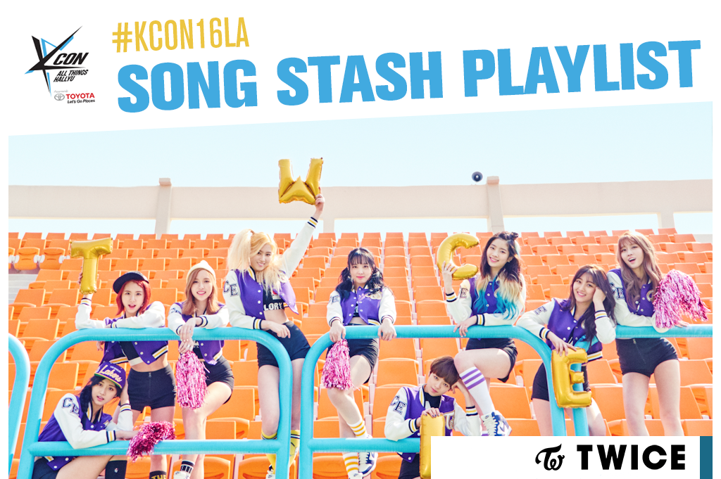 kcon16songstashplaylist(twicecv)