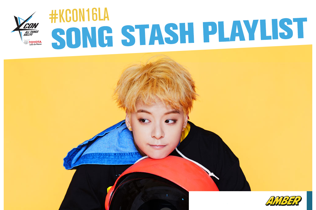 kcon16songstashplaylist(ambercv)