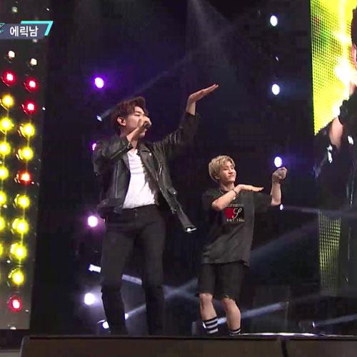 [M COUNTDOWN] KCON 2016 LA – Eric Nam ft. Astro Jin Jin