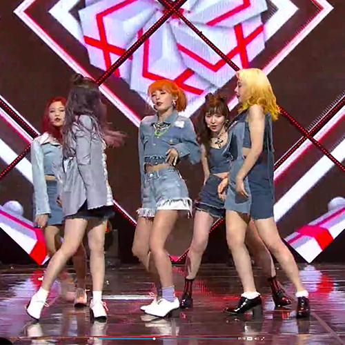 "[M Countdown] Ep. 492 – Red Velvet ""Lucky Girl"""