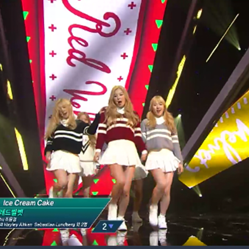 "[M Countdown] Ep. 419 – Red Velvet ""Ice Cream Cake"""