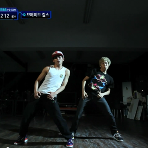 [Star Zoom In] M Countdown 2011 – INFINITE Dongwoo & Hoya Dance Stage
