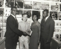 Jerry Mathers Ruth and Rudy Ray Moore
