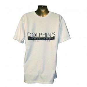 Dolphin's of Hollywood since 1948 T-Shirt - Front
